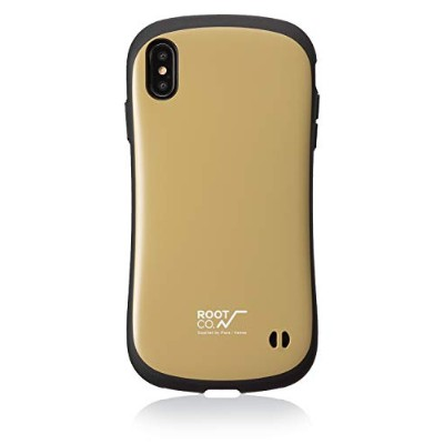 【ROOT CO.】iPhoneXS Max ケース Gravity Shock Resist Case. /ROOT CO.×iFace Model(ベージュ)