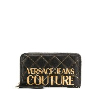 Versace Jeans Couture logo wallet - ブラック