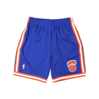 【送料無料】MITCHELL & NESS SWINGMAN SHORTS KNICKS 1991-1992【SMSHGS18241-BLUE】