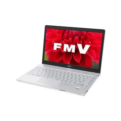 富士通 ノートパソコン FMV LIFEBOOK SH75/T(Office Home and Business Premium搭載) FMVS75TWP