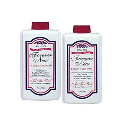 Delicate Fabric Wash - 32 oz (2 Bottles - 64oz, Clear) by Forever New