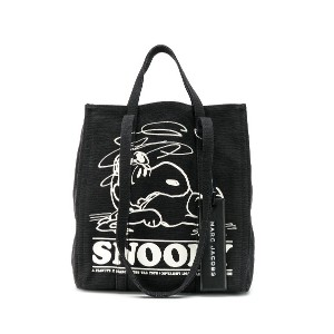 Marc Jacobs Snoopy ハンドバッグ - ブラック