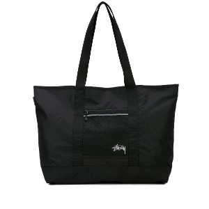 Stussy Diamond Ripstop tote bag - ブラック