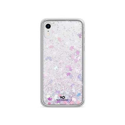 WHITE DIAMONDS iPhone XR用 Sperkle Case(Unicorns) 1380SPK13