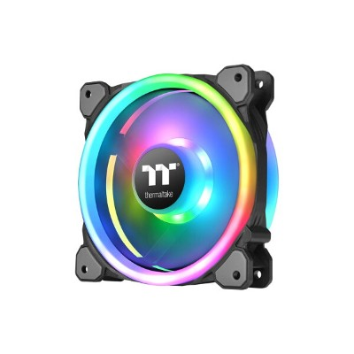 Thermaltake CL-F077-PL14SW-A Riing Trio PLUS 14 RGB Radiator Fan TT Premium Edition -3Pack-...