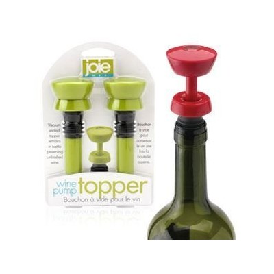 Joie Wine Pump Topper - Set of 2 - Assorted Colors by Joie