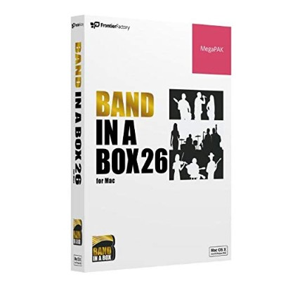 PG Music ピージーミュージック/Band-in-a-Box 26 for Mac MegaPAK バンドインアボックス