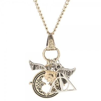 Necklace - Harry Potter - Charm New Licenced nk3q0yhpt