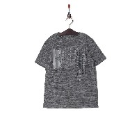 UNDER ARMOUR UA Crossfade Tee○1306086 Blk/stl/slg キッズ・ベビーファッション