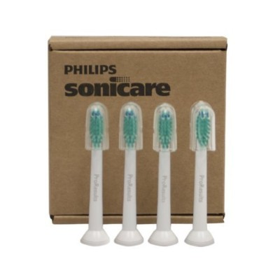Philips Sonicare HX6014/30 Pro Results Brush Head, 4 Count by Philips Oral Healthcare [並行輸入品]
