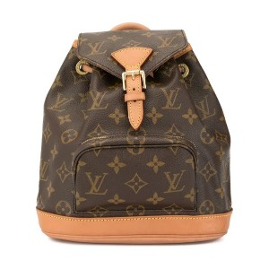 Louis Vuitton Pre-Owned モンスリ バックパック ミニ - ブラウン