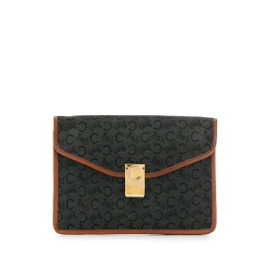 Céline Pre-Owned フラップ クラッチバッグ - ブラック