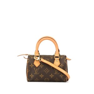 Louis Vuitton Pre-Owned スピーディ ハンドバッグ ミニ - ブラウン