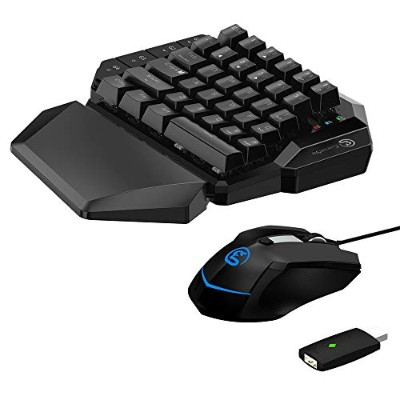 E-sports コンボ ゲーミングキーパッド&マウス 2.4Ghzドングルセット GameSir VX AimSwitch- Switch/ PS4/PS3/Xbox One/PC用 接続アダプタ...