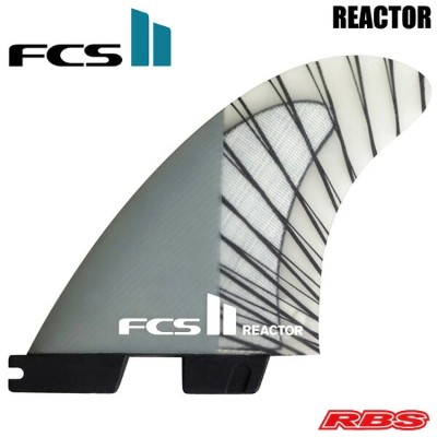 FCS フィン FCS II REACTOR PC CARBON TRI FINS エフシーエス2 パフォーマンスコアカーボン リアクター トライフィン 【サーフィン サーフボード フィン】...