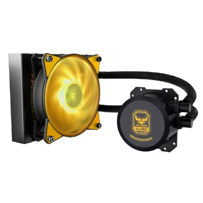 クーラーマスター COOLER MASTER MASTERLIQUID ML120L RGB TUF Gaming Edition MLW-D12M-A20PW-RT[MLWD12MA20PWRT]