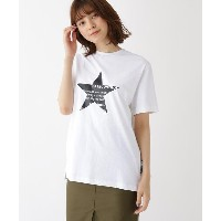 【BASE CONTROL LADYS(ベース コントロール レディース)】 スター フロントプリント 半袖 Tシャツ OUTLET > BASE CONTROL LADYS > トップス >...
