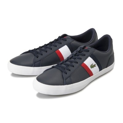 【LACOSTE】 ラコステ LEROND 119 3 レロンド CMA0045 7A2 NVY/WHT/RED