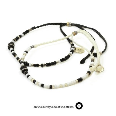 on the sunny side of the street 510-365 Small Trade Beads Anklet & BraceletBracelet ブレスレット Anklet...