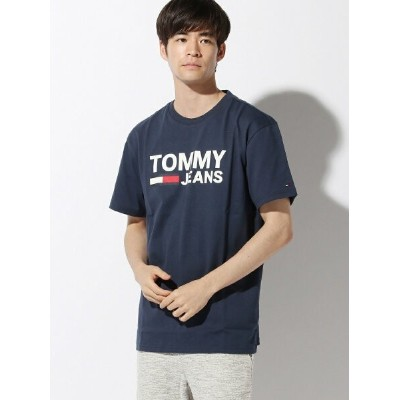 TOMMY HILFIGER(トミーヒルフィガー) クラシックロゴTシャツ トミーヒルフィガー カットソー【送料無料】