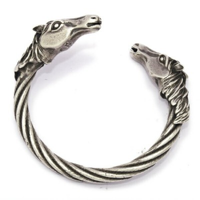Gaboratory(ガボラトリー) Horse heads cable wire bangle /swbr002 l ガボラトリー ガボール 正規品 送料無料 誕生日 プレゼント ギフト...