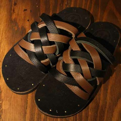 "【SALE】定価18,700円20%OFFDRESS HIPPY""LEATHER SANDAL""model:CMIXDRESS HIPPYドレスヒッピー正規取扱店(Official Dealer..."