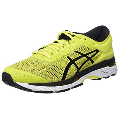 (8 UK, Yellow (Sulphur Spring/Black/White 8990)) - Asics Men's Gel-Kayano 24 Running Shoes