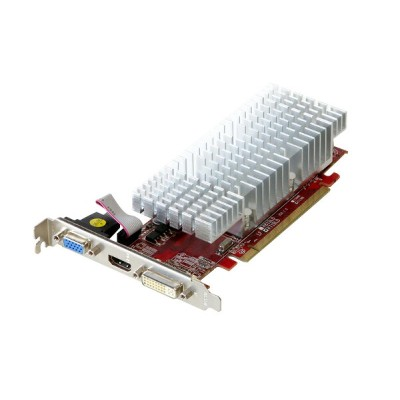 玄人志向 Radeon HD 4350 512MB VGA/HDMI/DVI PCI Express 2.0 x16 RH4350-LE512HD/HS【中古】