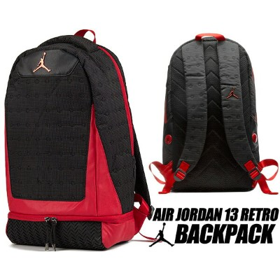 NIKE JORDAN RETRO 13 BACKPACK black/gym red 9a1898-kr5 ナイキ ジョーダン 13 バックパック リュック AJXIII カバン バッグ...