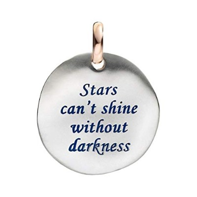 QUERIOT CIVITA MONETA STARS CAN'T SHINE WITHOUT DARKNESS ORO 9KT F12A03M0518
