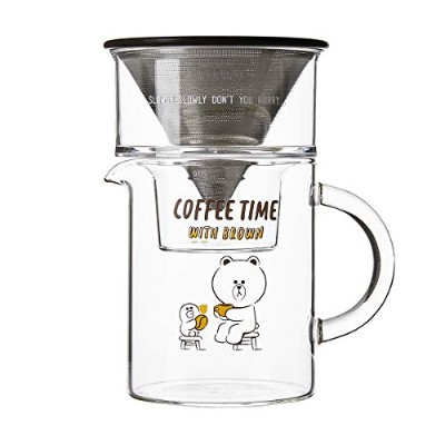 LINE FRIENDS 公式 グッズ コーヒージャグセット(KINTO)