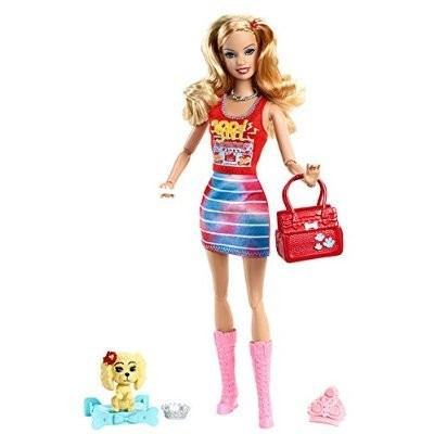 Barbie Fashionistas Summer Doll and Pet おもちゃ