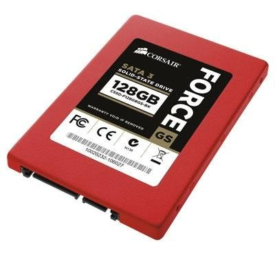 Corsair Force Series GS Red 128GB 2.5-Inch (6Gb/s) SATA 3 SF2200 Controller Toggle Solid State Dri