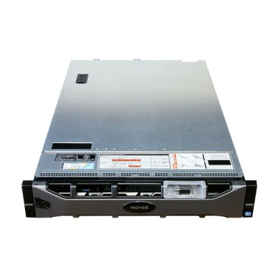 PowerEdge R720 DELL/Novell Xeon E5-2609 *2/32GB/1TB *6/DVD-ROM/PERC H710P 電源ユニット *2【中古】