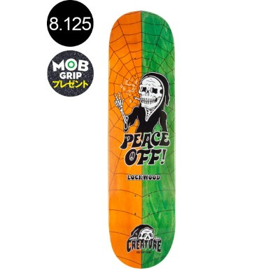 【CREATURE クリーチャー】8.125in x 31.7in LOCKWOOD SKETCHY-MOJI PRO DECKデッキ コーディ・ロックウッド SKETCHY TANK...