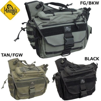 ノベルティープレゼント MAGFORCE #MF-0439 Fatboy2 Shoulderpack 【FG/BKW】【TAN/FGW】【BLACK】