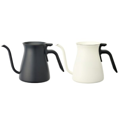 KINTO POUR OVER KETTLE 900ml KINTO SLOW COFFEE STYLE Black(ブラック) / White(ホワイト)キントー プアオーバーケトル...