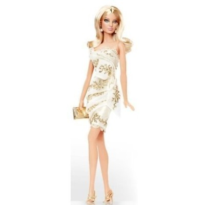 バービー Platinum Edition Glimmer of Gold Barbie Doll Designed By Robert Best Only 999 Dolls World