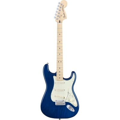 Fender Mexico(フェンダー)Deluxe Stratocaster Sapphire Blue Transparent