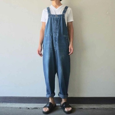 Ordinary fits オーディナリーフィッツ DUKE OVERALL デュークオーバーオール used wash