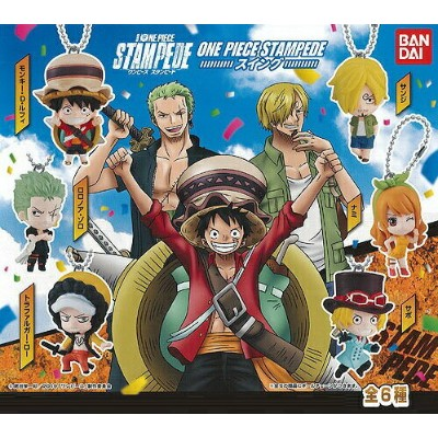From TV animation ONE PIECE ONE PIECE STAMPEDE スイング 【全6種セット】