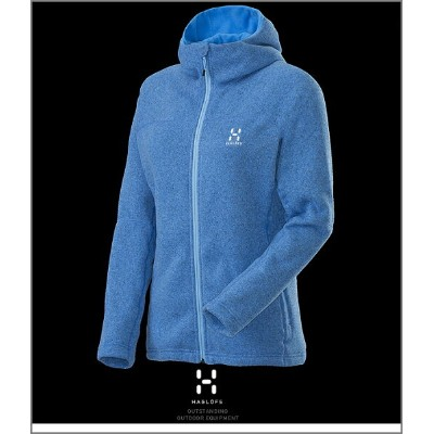 HAGLOFS Swook Q Hood Woman Blue ホグロフス正規品