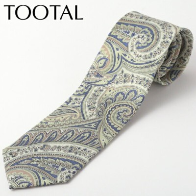 SALE セール Tootal Vintage メンズ シルク ネクタイ トゥータル ヴィンテージ オリジナル ペイズリー グリーン タイ プレゼント ギフト 就職祝い 卒業式