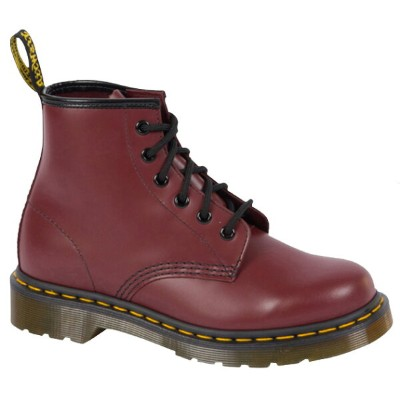 Dr.Martens 101 6 Eyelet Cherry Red 送料無料