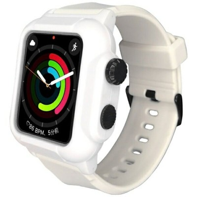 ROOX YHDIPCW3L-WH Apple Watch Series 2 / 3 (42mm) 防塵防水ケース ホワイト[YHDIPCW3LWH]