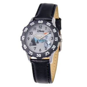 Disney ディズニー アナと雪の女王 キッズ腕時計 Kids' W000973 Frozen Tween Analog Display Quartz Black Watch