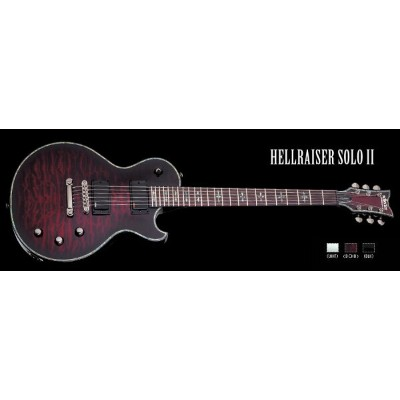 Schecter / HELLRAISER SOLO-II Black Cherry シェクター エレキギター 【お取り寄せ商品/納期別途ご案内】