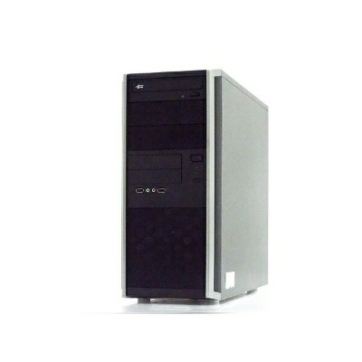 【中古】 UNITCOM BTO デスクトップ パソコン PC Intel Core i7 2600 3.40GHz 8GB SSD120GB/HDD1.0TB Windows 10 Pro...