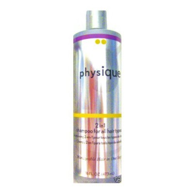 Physique 2 in 1 Shampoo for All Hair Types - 16 Oz. by Physique