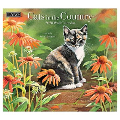 [猫 カレンダー 2020年]ラング LANG/CATS IN THE COUNTRY Susan Bourdet